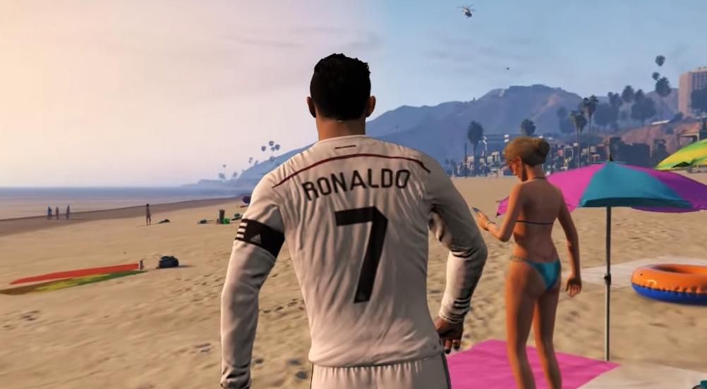 Ronaldo w GTA V