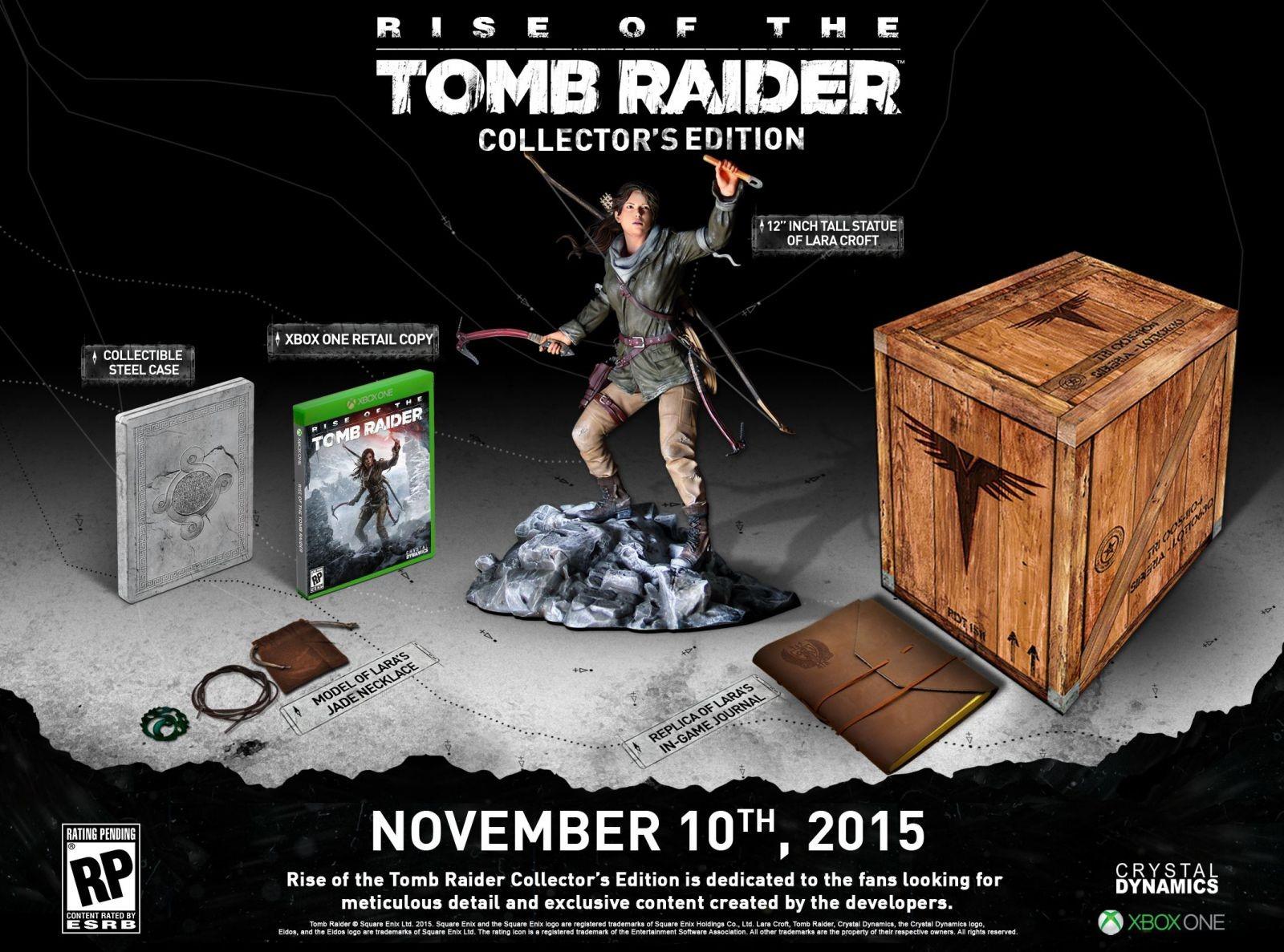 Edycja kolekcjonerska Rise of The Tomb Raider