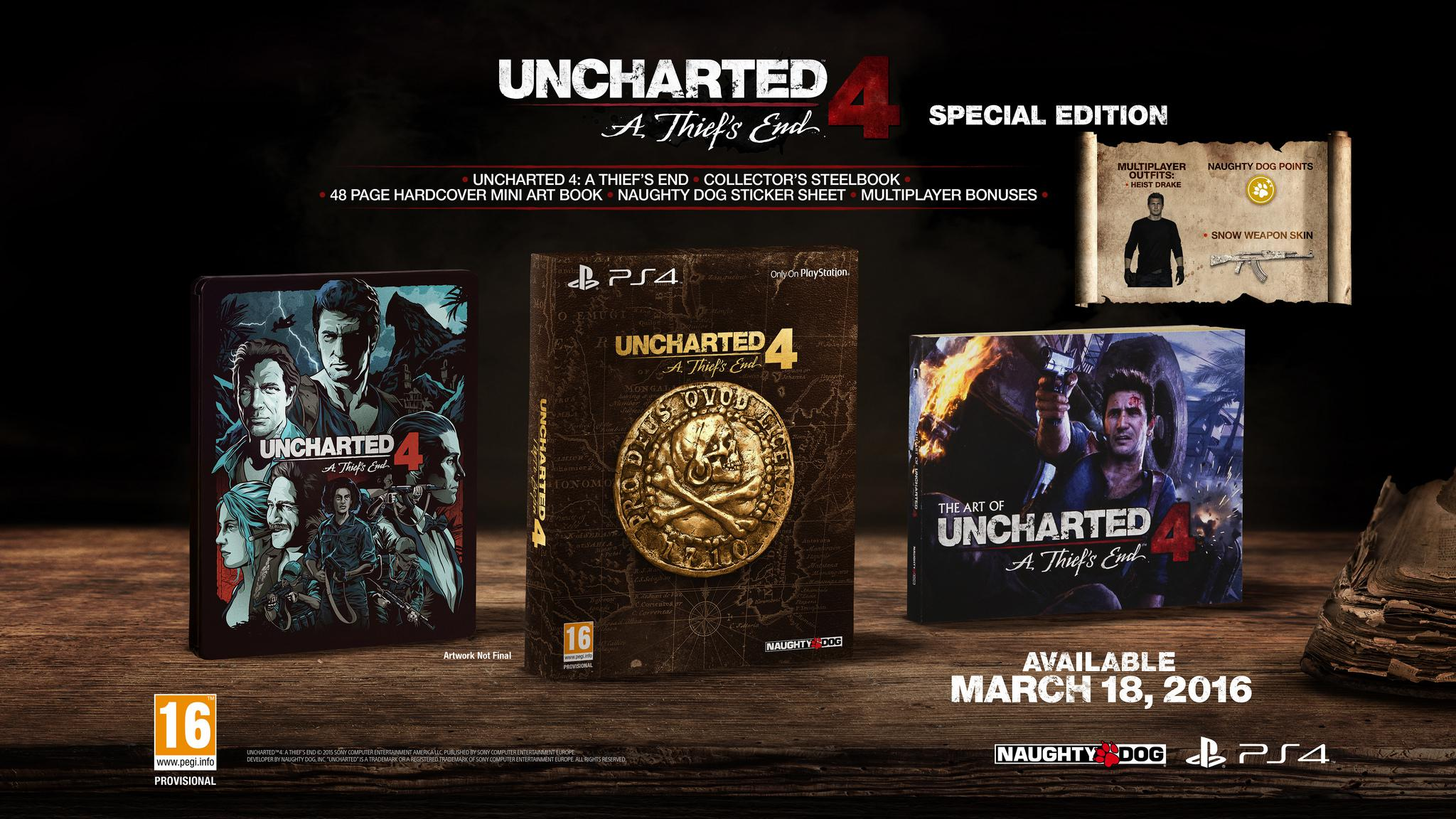 Uncharted 4 SE
