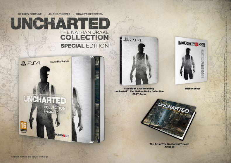 Uncharted: Kolecja Nathana Drake'a - edycja specjalna.