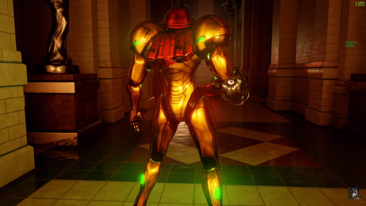 Unreal Engine 4 spotyka Samus Aran