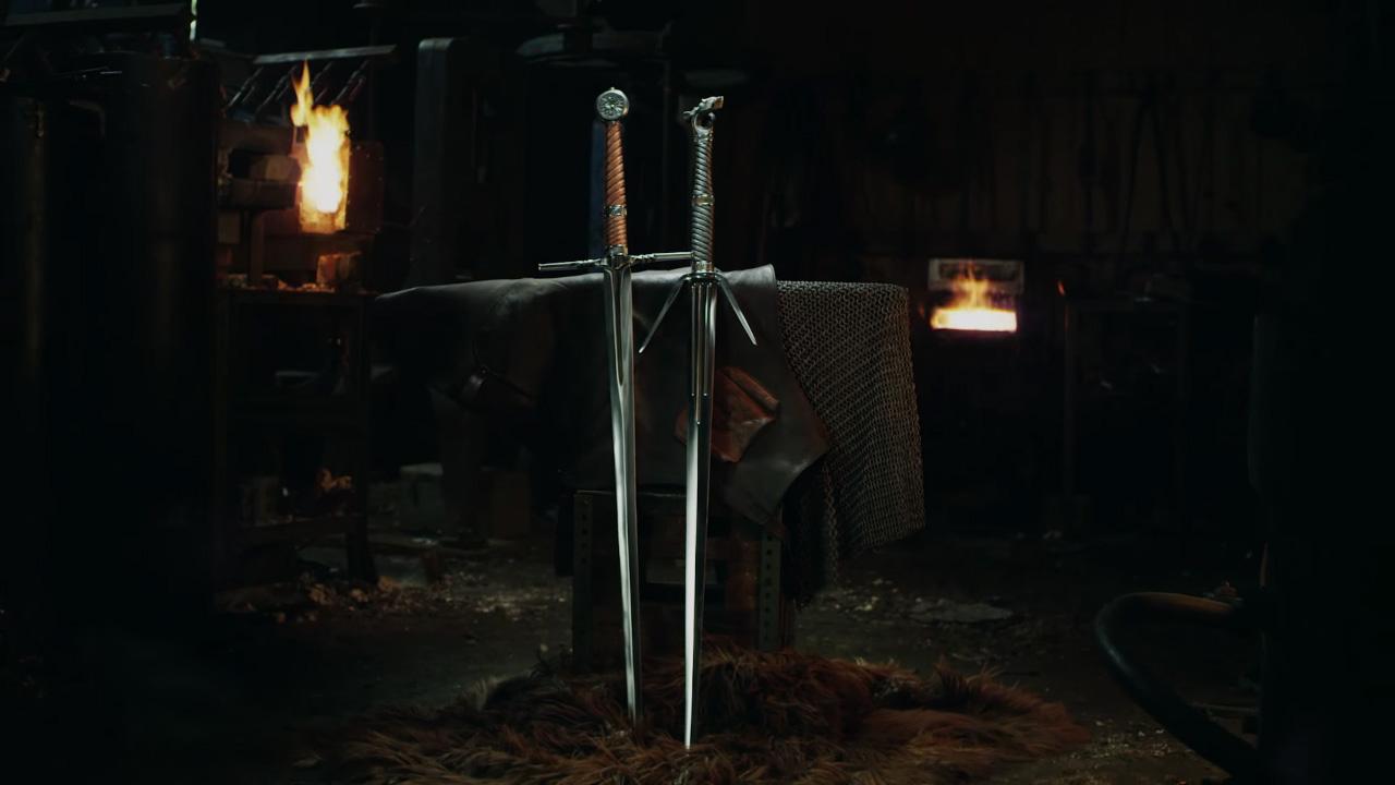 Miecze Wiedźmina od Man at Arms