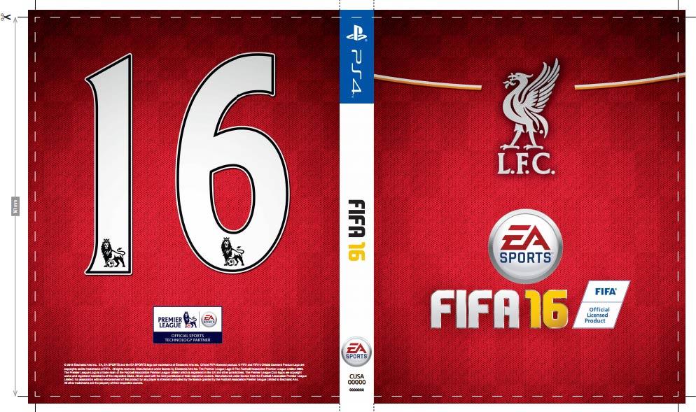 FIFA 16 - własna okładka