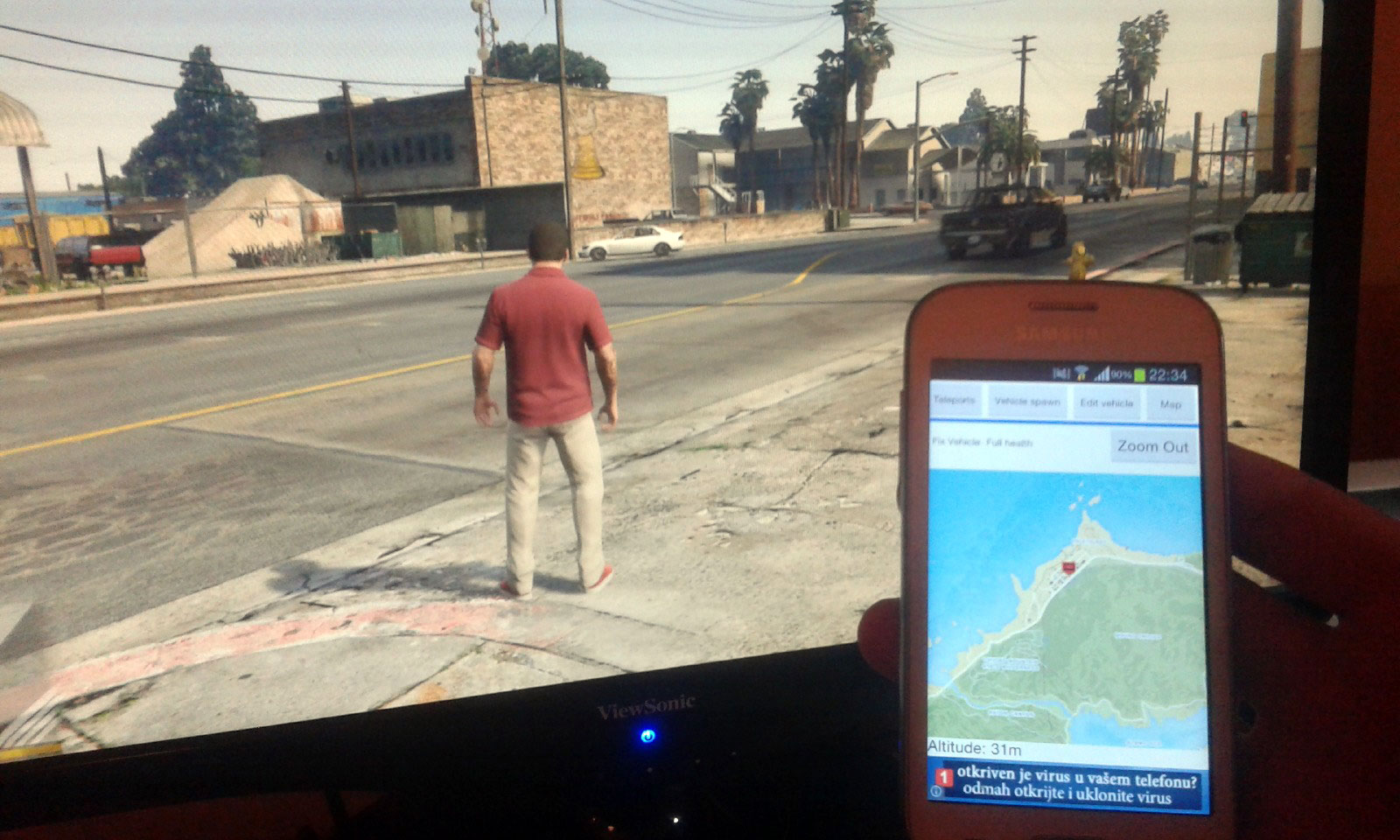 GTA V Remote Trainer