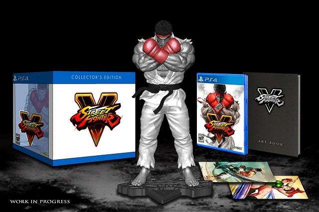 Edycja Kolekcjonerska Street Fighter V