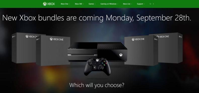 Xbox One - nowe zestawy nadciągają