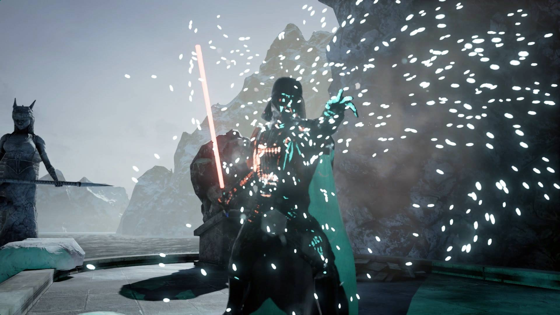Darth Vader i Unreal Engine 4