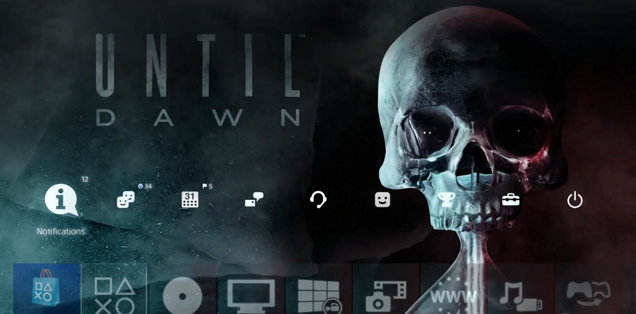 Until Dawn - motyw na PS4