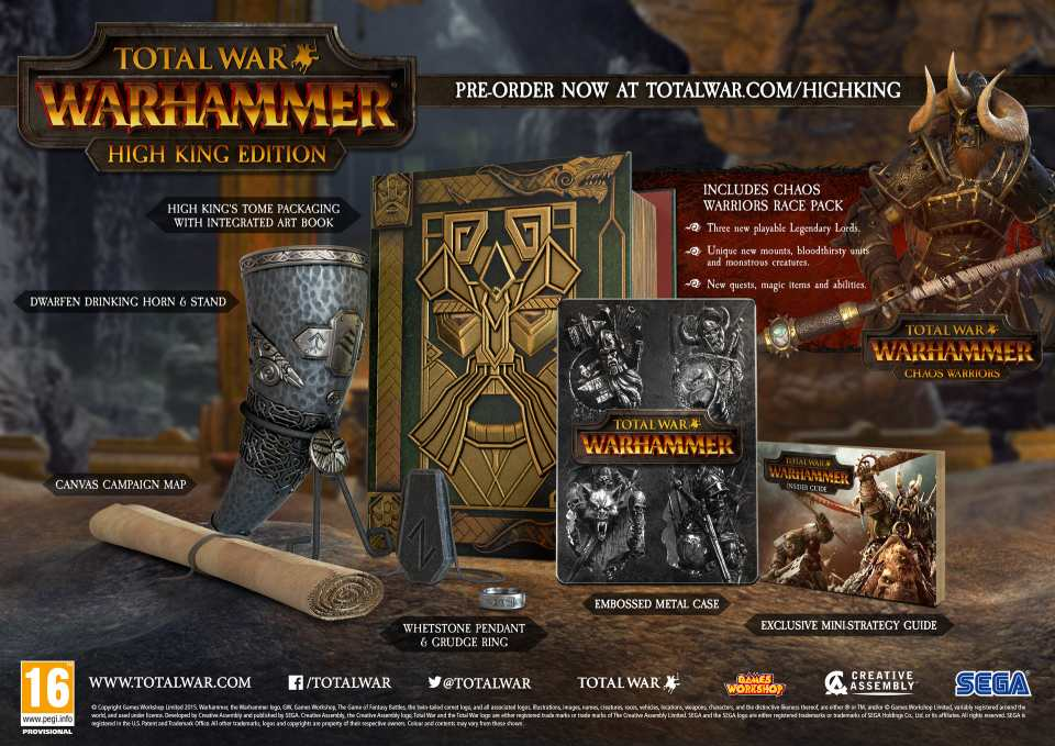 Total War: Warhammer High King Edition
