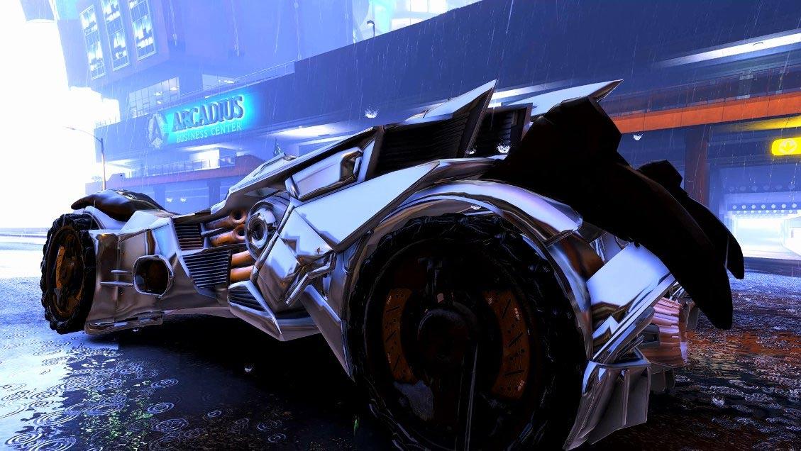 Batmobil w GTA V