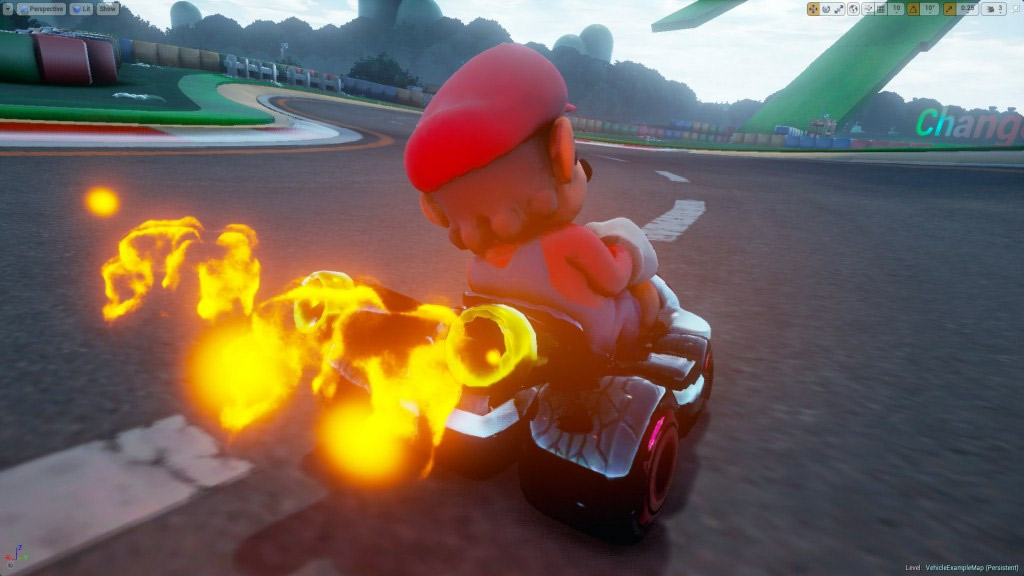 Mario Kart na Unreal Engine 4