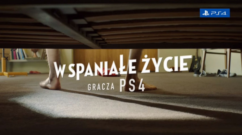 Reklama PS4
