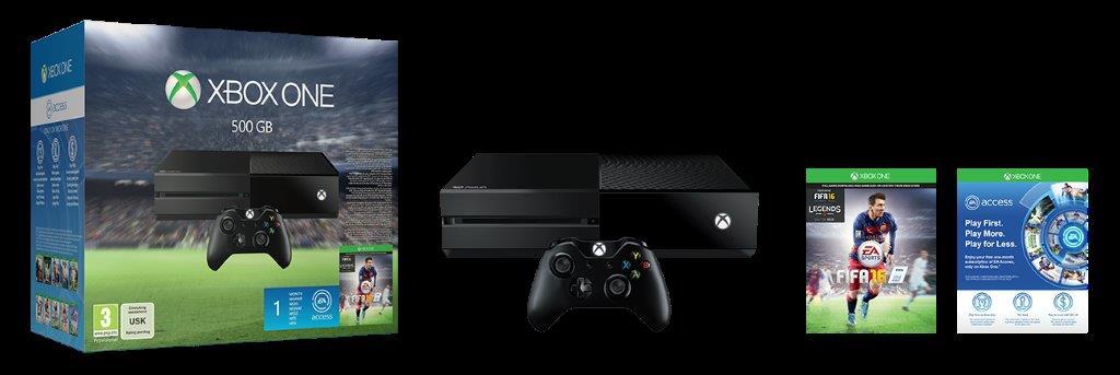Zestaw z Xbox One