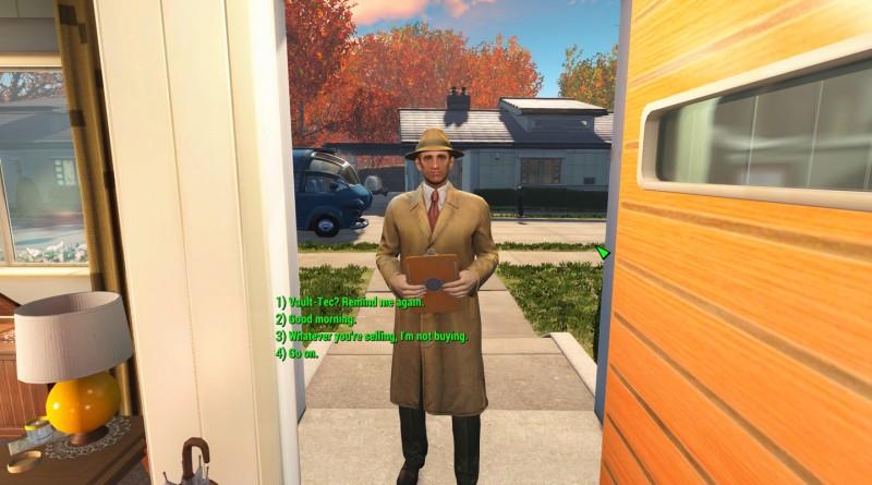 Fallout 4: Full Dialogue Interface