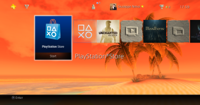PS4 motyw