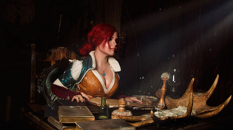 Cosplay Triss Merigold