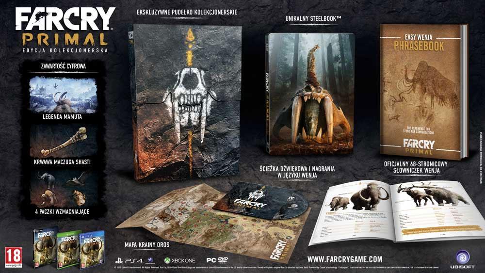 Far Cry Primal - edycja kolekcjonerska