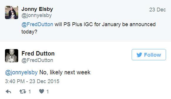 PS Plus na styczeń 2016