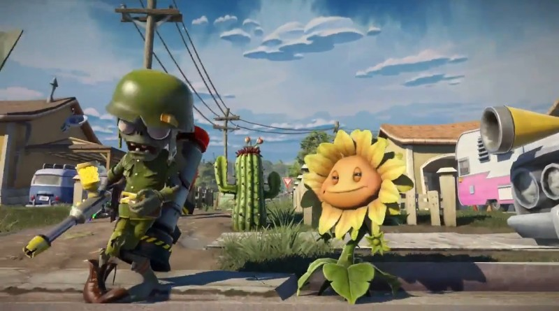 Plants vs Zombies 2 Garden Warfare