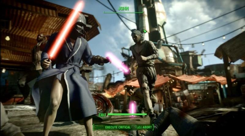 Fallout 4 Lightsaber