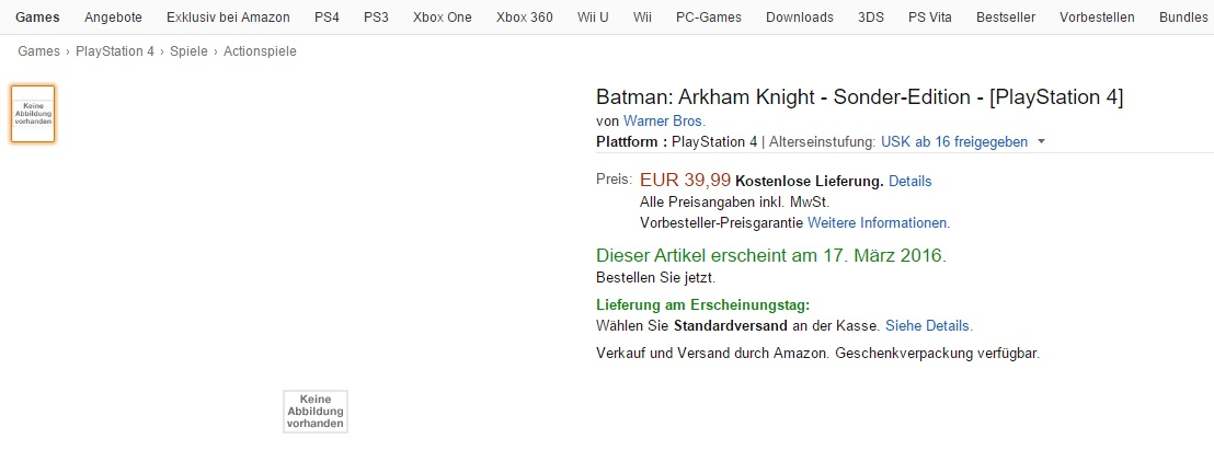 Batman Amazon
