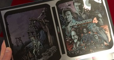 Uncharted 4 Steelbook
