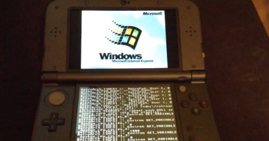 Windows 95 Nintendo 3DS
