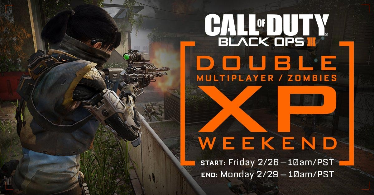 CoD: Black Ops III - double XP