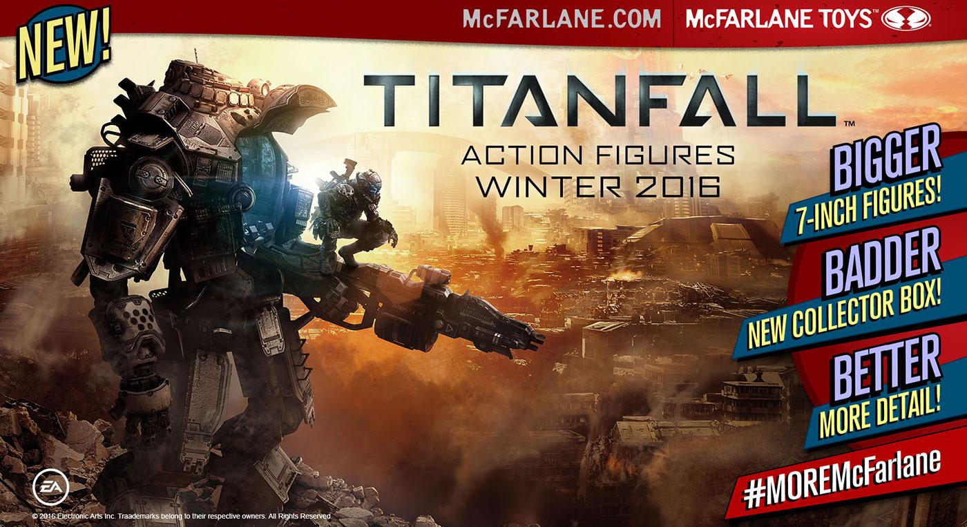 Figurki Titanfall