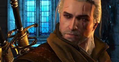 Wiedźmin 3 - odmłodzony Geralt