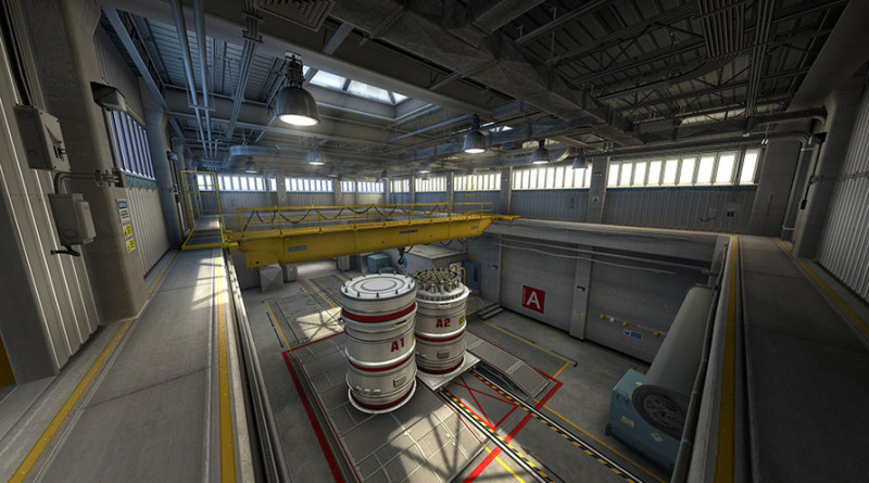C-S: GO - mapa Nuke
