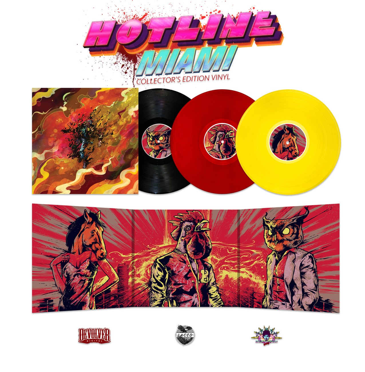 Hotline Miami winyl