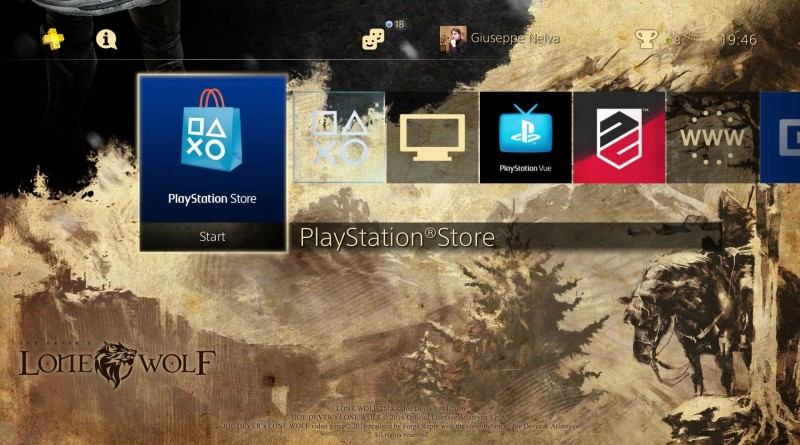 PS4 Theme