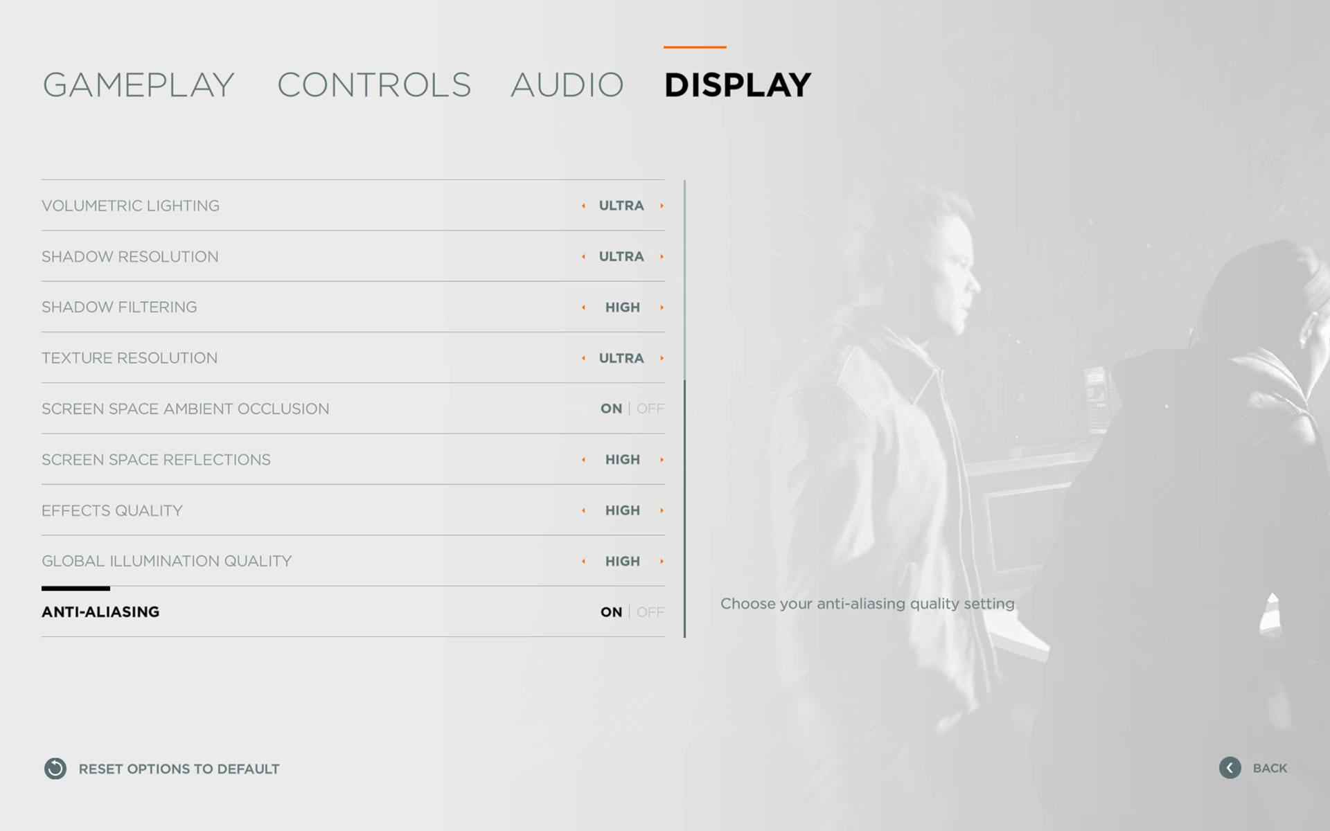 Quantum Break - ustawienia PC