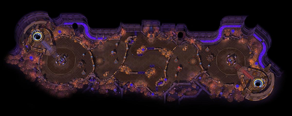 Zaginiona Pieczara - mapa