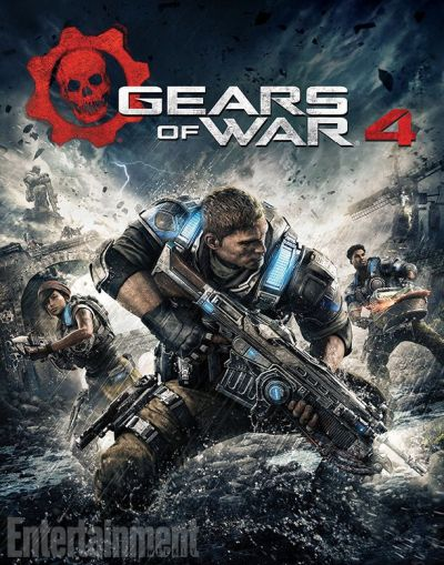 Gears of War 4 okładka gry