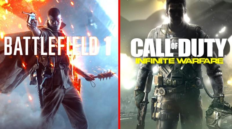 Battlefield 1 kontra Call of Duty Infinite Warfare