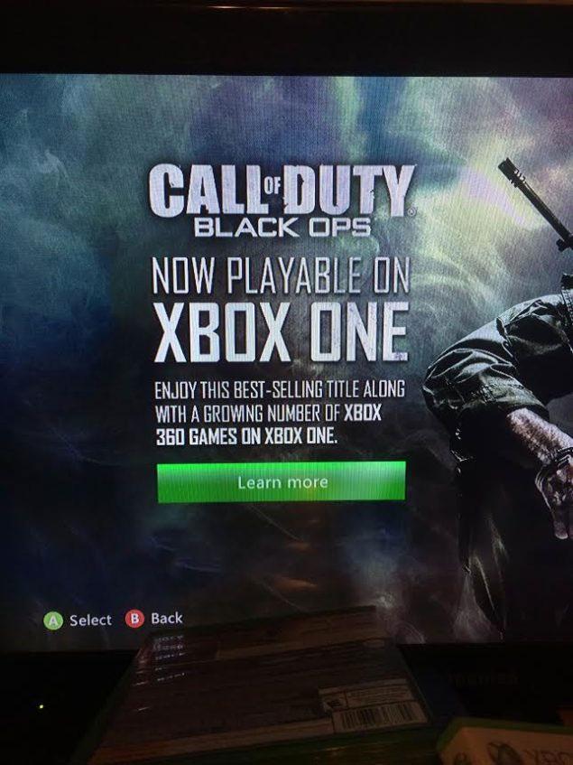 CoD Black Ops na Xbox One