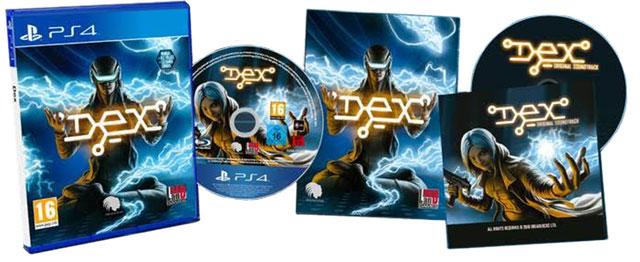 Dex w pudełku na PS4