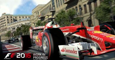 Pierwsze screeny prosto z F1 2016