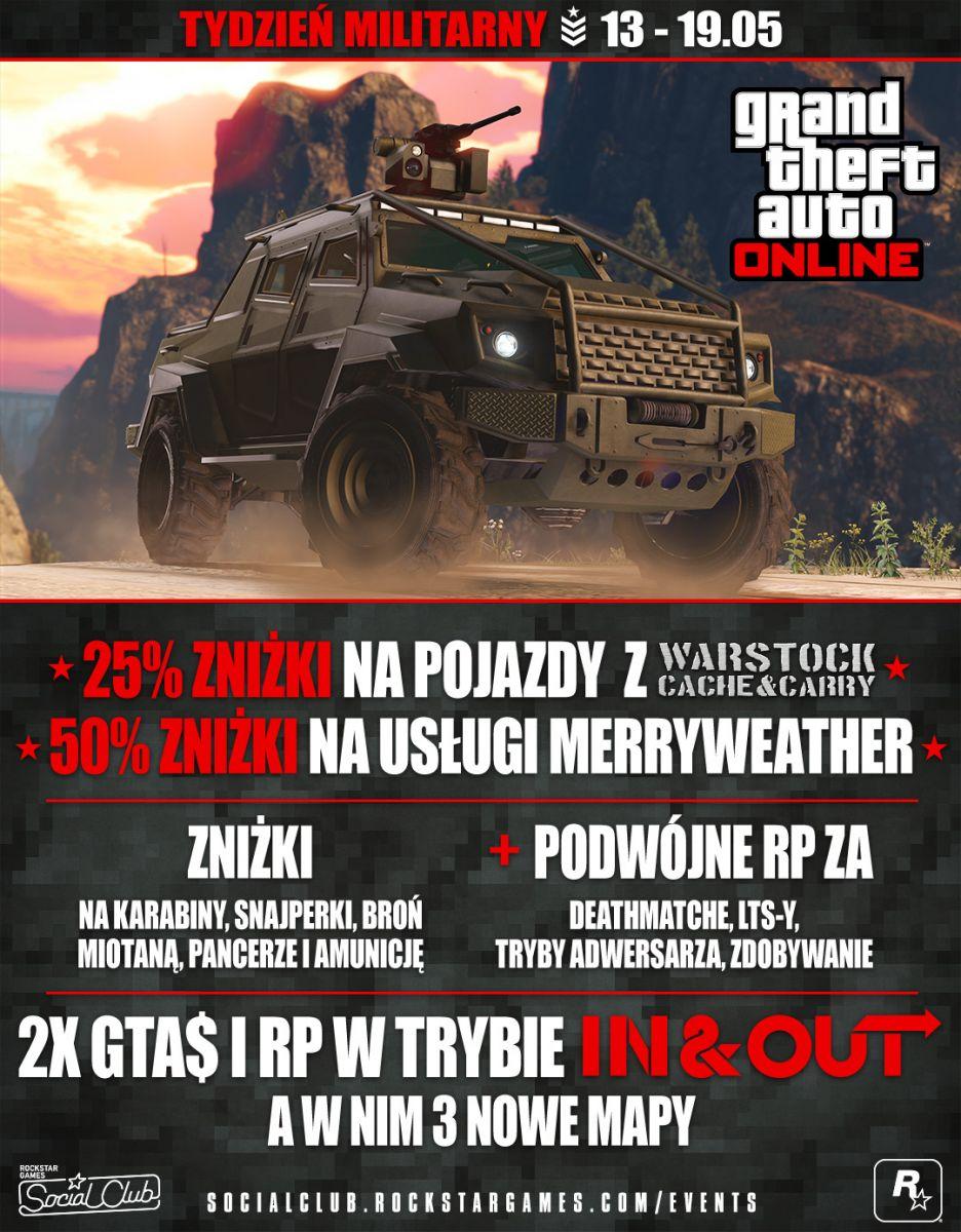 Tydzień Militarny w GTA V