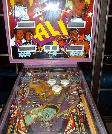 Ali pinball
