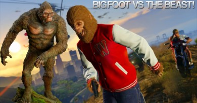 GTA 5 peyote Easter Egg - The Bigfoot vs The Beast
