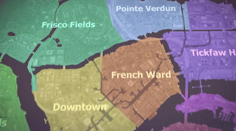 Mafia III Mapa