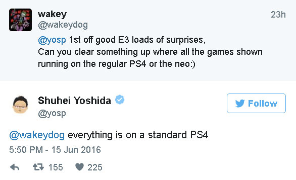 PS4 NEO nie maczało swoich podzespołów w E3 2016