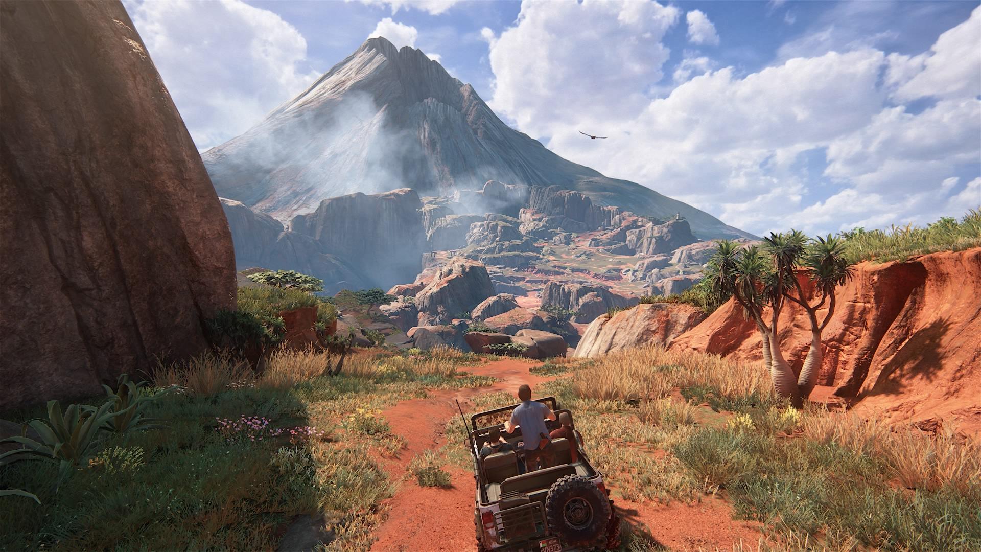 Grafika w Uncharted 4 prezentuje najwyższy poziom.