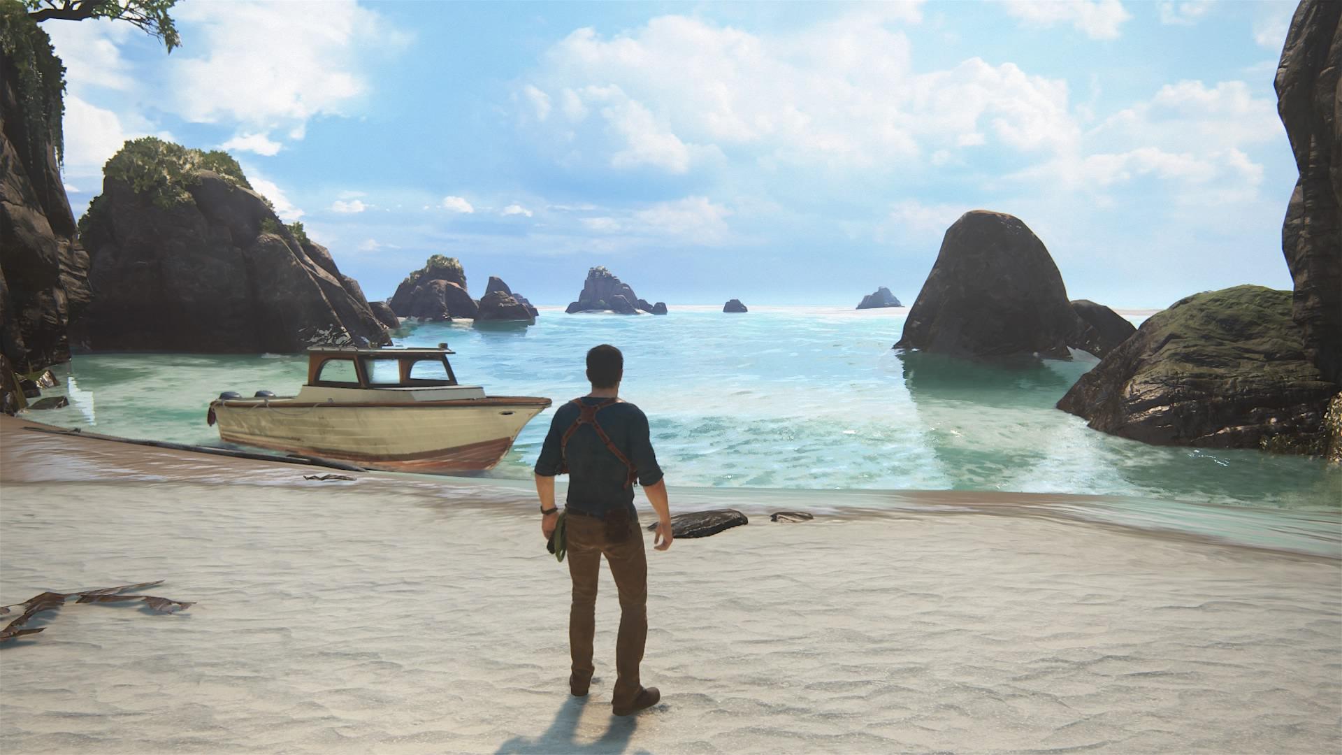 Przeprawy łodzią to nie jedyna z atrakcji Uncharted 4: Kres Złodzieja.