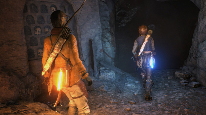 Rise of the Tomb Raider na PS4