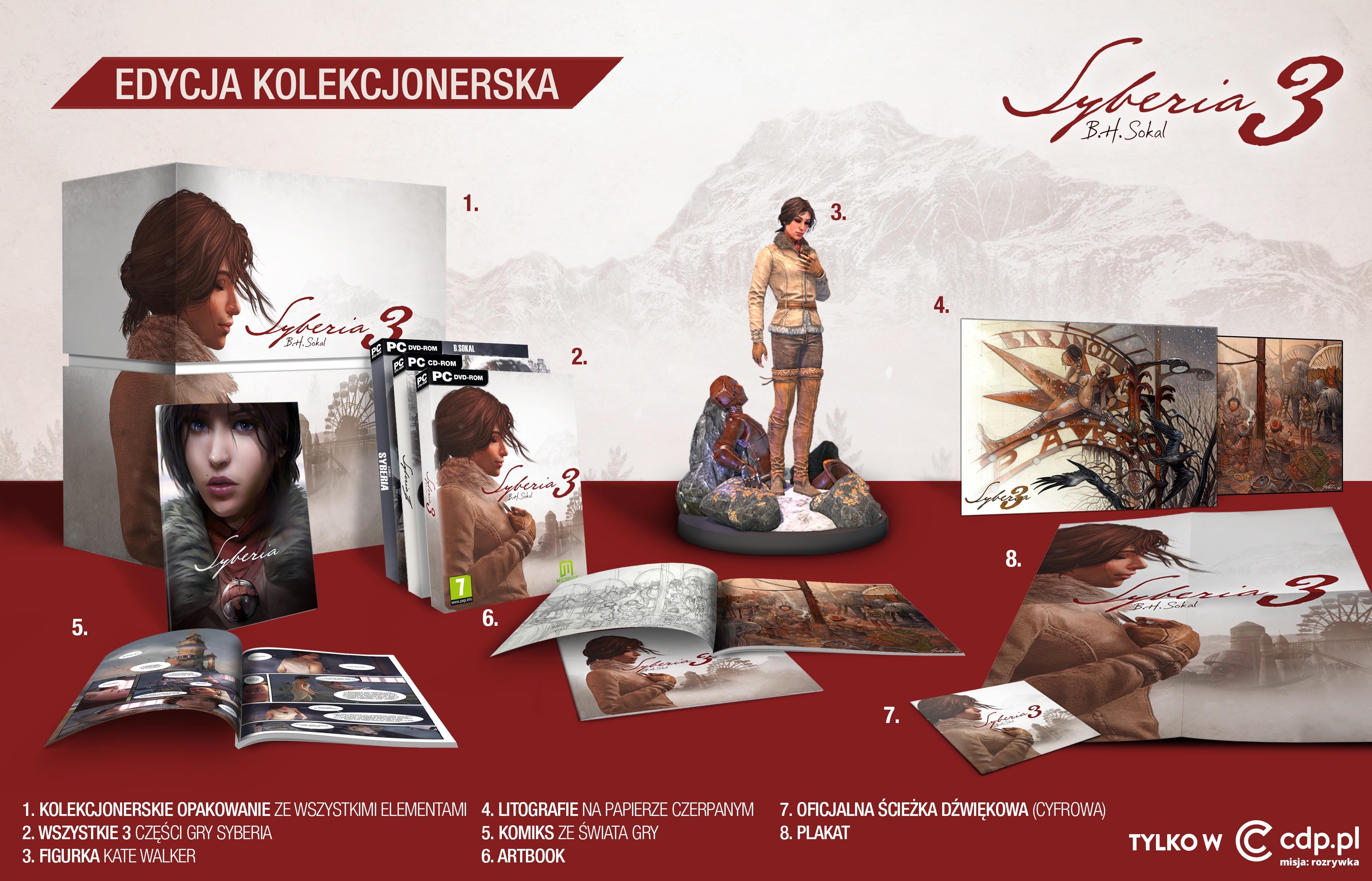 Syberia 3 - edycja kolekcjonerska na PC