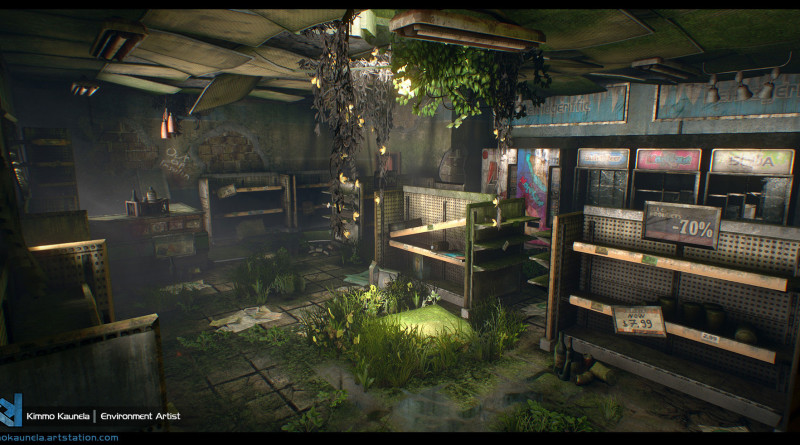 TLoU na Unreal Engine 4